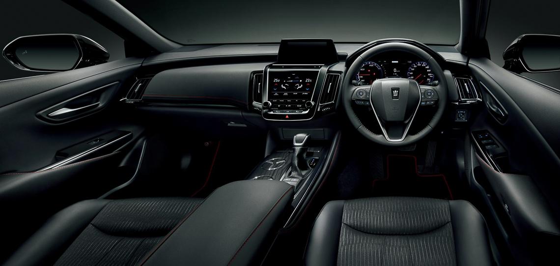 Toyota Crown phiên bản kỷ niệm 65 tuổi của mẫu xe huyền thoại - 10