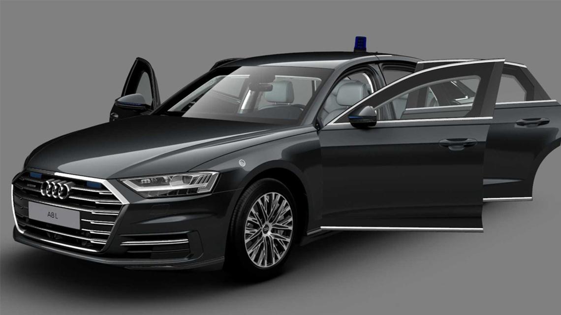 Audi A8 L phiên bản chống đạn có giá 750.000 USD - 01