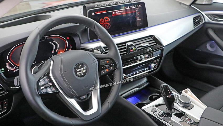 BMW 5 Series (LCI) 2021 lộ diện trước ngày ra mắt - 03