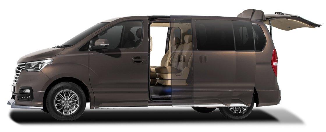 Hyundai Starex ra mắt bản nâng cấp, giá từ 890 triệu đồng - 4