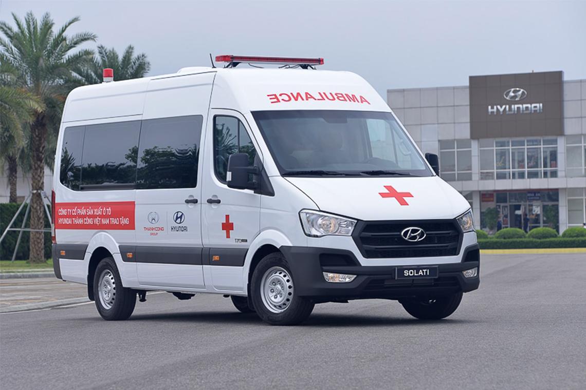 Tập đoàn Thành Công và Hyundai Motor tặng 10 xe Solati cứu thương cho các cơ sở y tế tuyến đầu chống dịch - 02