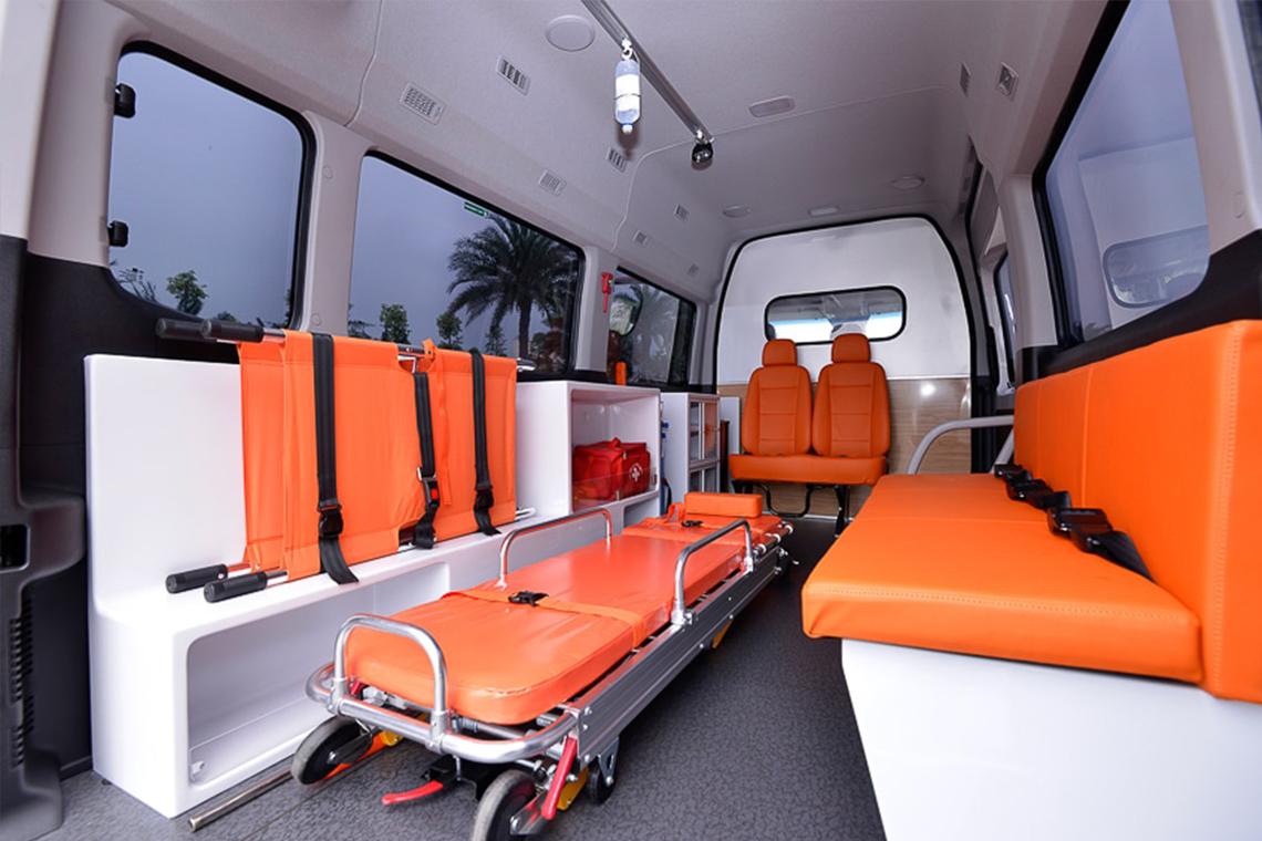 Tập đoàn Thành Công và Hyundai Motor tặng 10 xe Solati cứu thương cho các cơ sở y tế tuyến đầu chống dịch - 04