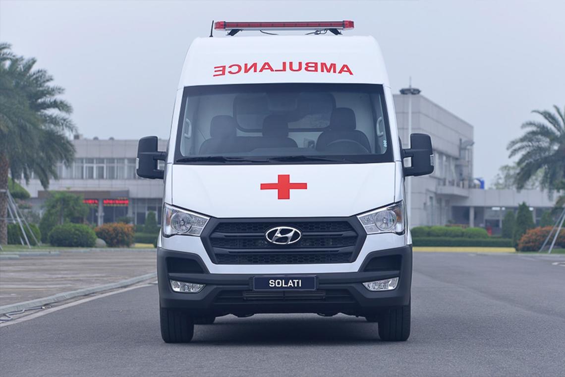 Tập đoàn Thành Công và Hyundai Motor tặng 10 xe Solati cứu thương cho các cơ sở y tế tuyến đầu chống dịch - 06