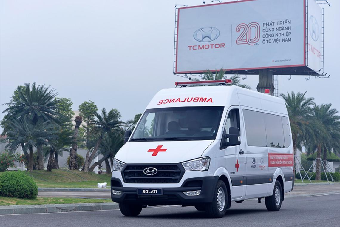 Tập đoàn Thành Công và Hyundai Motor tặng 10 xe Solati cứu thương cho các cơ sở y tế tuyến đầu chống dịch - 07