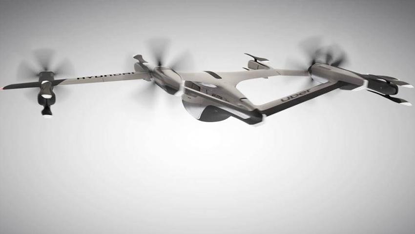 Hyundai thử nghiệm taxi bay có thể cất hạ cánh thẳng đứng - 04