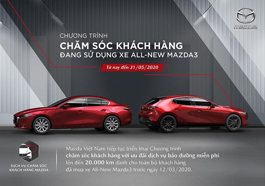 Tặng gói bảo dưỡng miễn phí cho khách hàng sở hữu xe All-New Mazda3 - 04