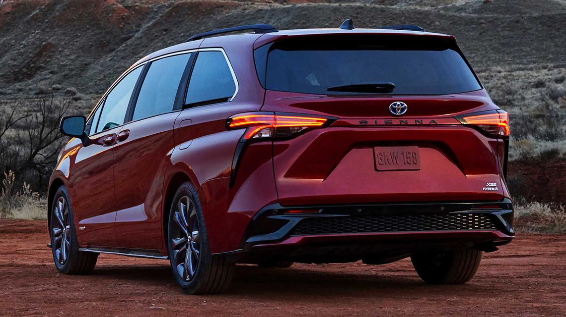 Toyota Sienna 2021 thế hệ mới bất ngờ với thiết kế táo bạo - 07