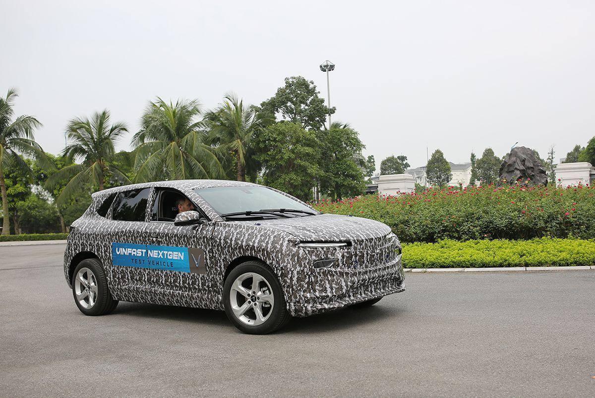 Xuất hiện SUV điện của Vinfast đang thử nghiệm tại VN - 2