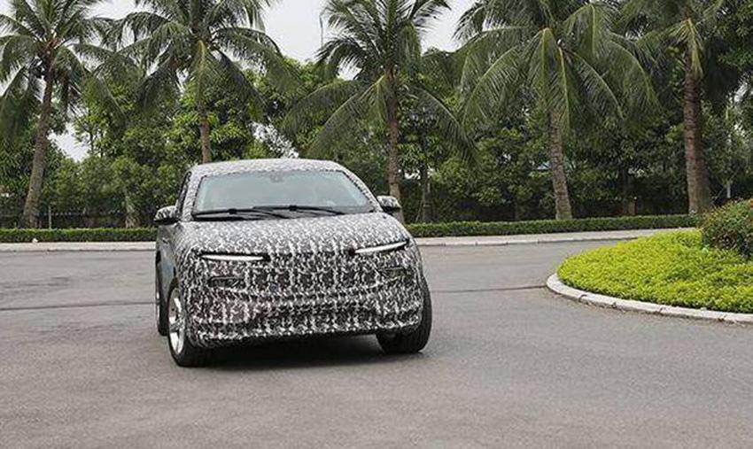Xuất hiện SUV điện của Vinfast đang thử nghiệm tại VN - 3