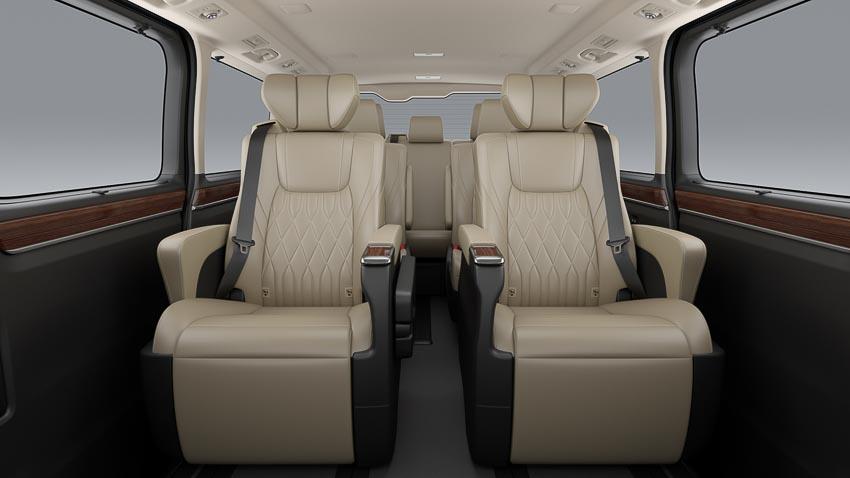 Toyota giới thiệu Hiace thế hệ mới, Granvia hoàn toàn mới và Land Cruiser Prado 2020 - 4