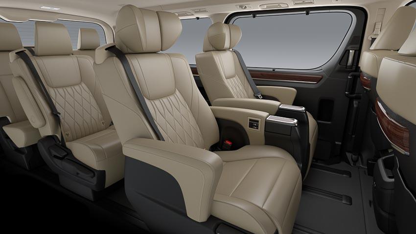 Toyota giới thiệu Hiace thế hệ mới, Granvia hoàn toàn mới và Land Cruiser Prado 2020 - 5