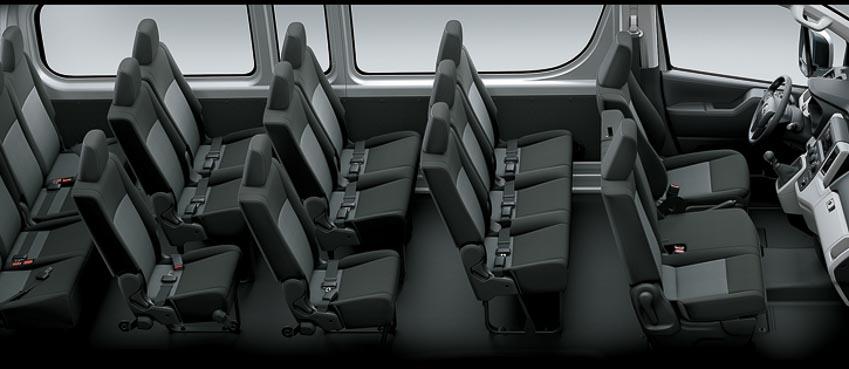 Toyota giới thiệu Hiace thế hệ mới, Granvia hoàn toàn mới và Land Cruiser Prado 2020 - 7