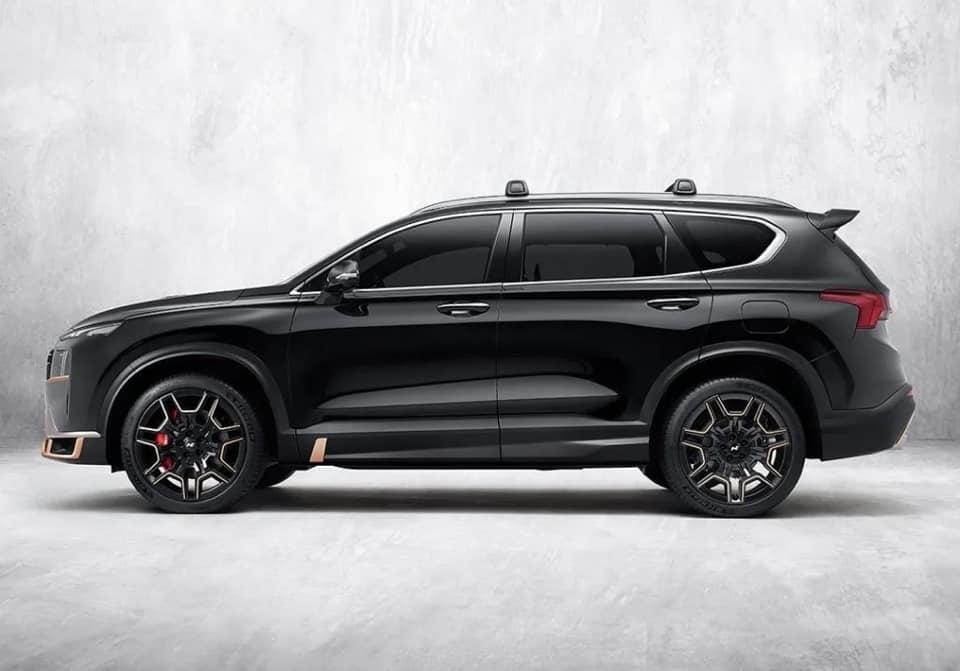Hyundai Santa Fe N Performance với gói phụ kiện ấn tượng tượng- 3