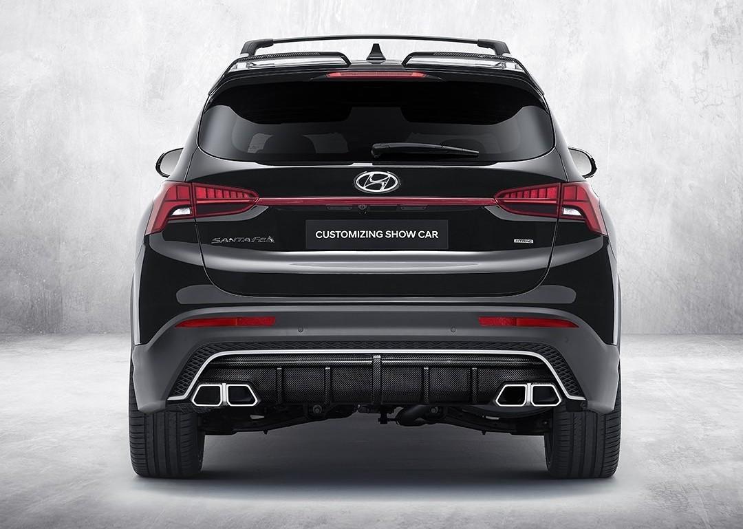 Hyundai Santa Fe N Performance với gói phụ kiện ấn tượng - 6