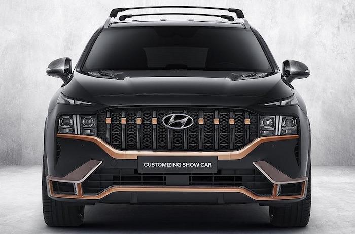Hyundai Santa Fe N Performance với gói phụ kiện ấn tượng - 4