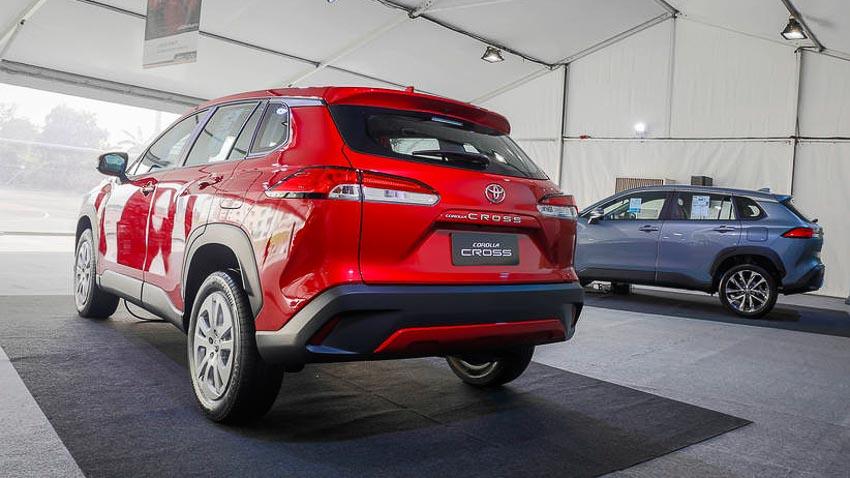Chi tiết Toyota Corolla Cross phiên bản nâng cấp thể thao đang được mong đợi - 12