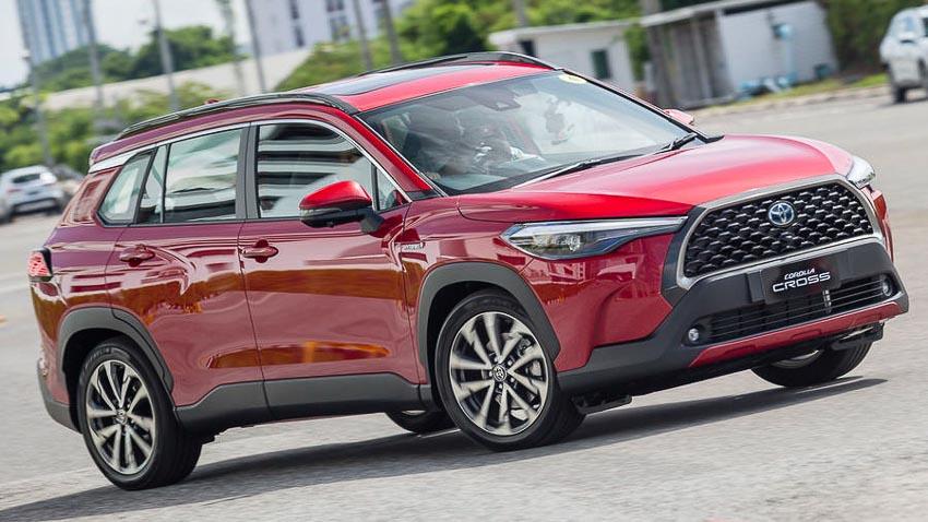 Chi tiết Toyota Corolla Cross phiên bản nâng cấp thể thao đang được mong đợi - 19