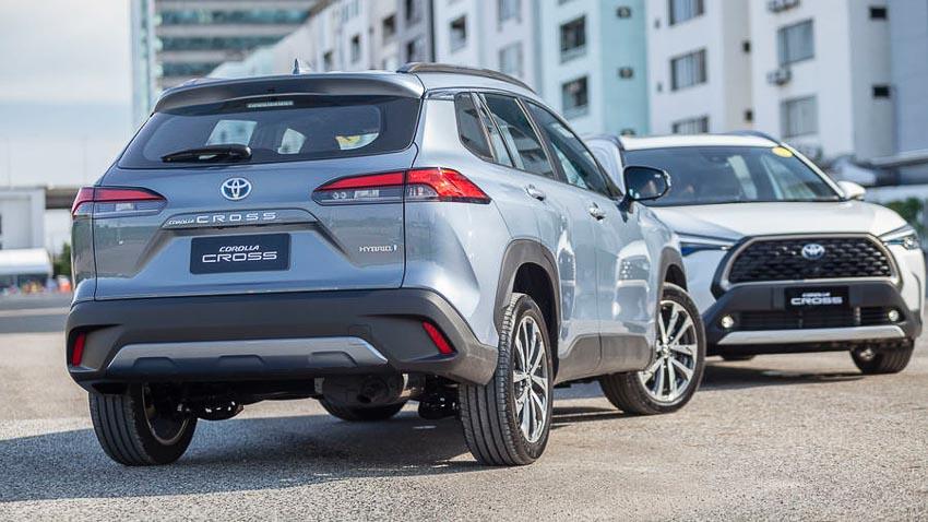 Chi tiết Toyota Corolla Cross phiên bản nâng cấp thể thao đang được mong đợi - 21