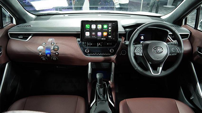 Chi tiết Toyota Corolla Cross phiên bản nâng cấp thể thao đang được mong đợi - 31