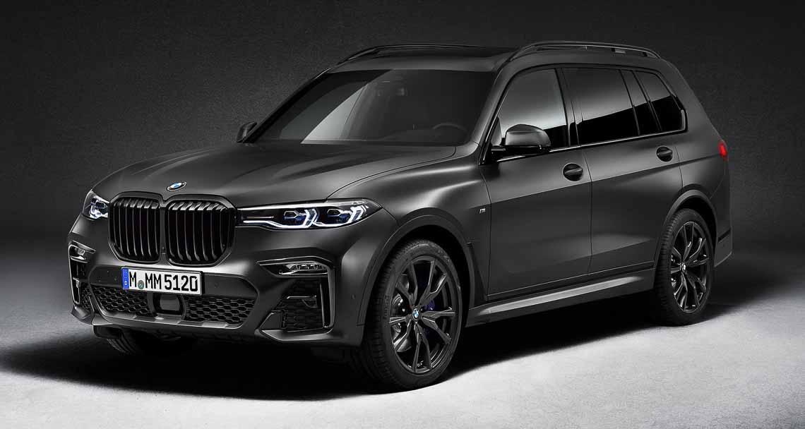 BMW X7 2021 cực ngầu với phiên bản bóng đêm, giá 120.000 USD - 1