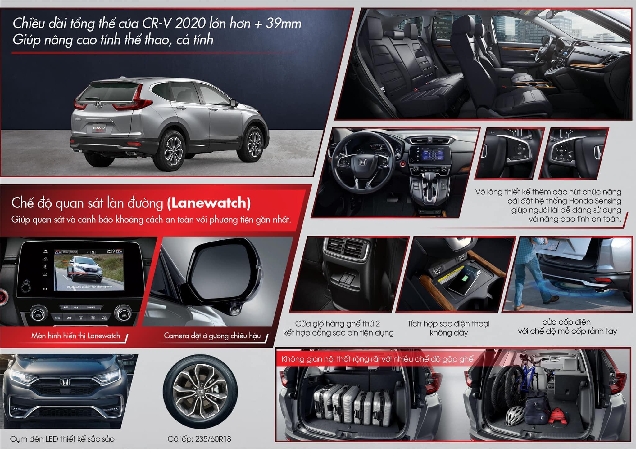 Honda CR-V 2020 lộ thông số kỹ thuật trước ngày ra mắt Việt Nam - 3