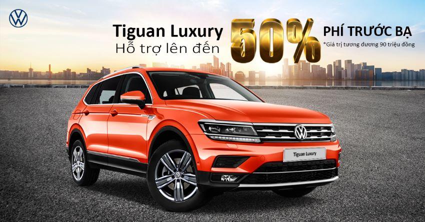 Volkswagen hỗ trợ phí trước bạ