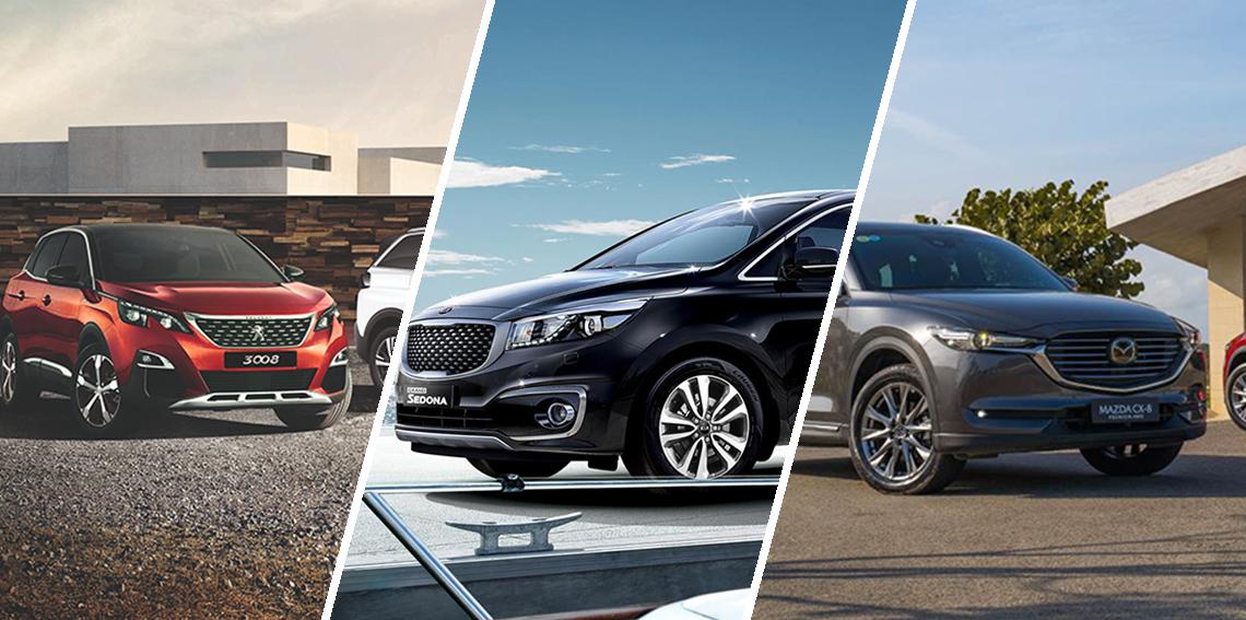 THACO giảm đồng loạt cho các thương hiệu Kia, Mazda và Peugeot lên đến 200 triệu đồng
