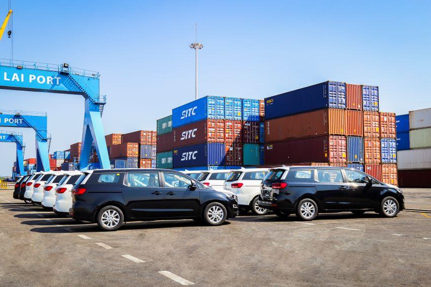 Thaco xuất khẩu xe
