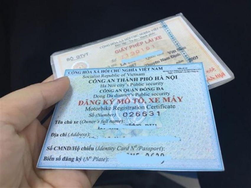 Dịch vụ công đăng ký xe