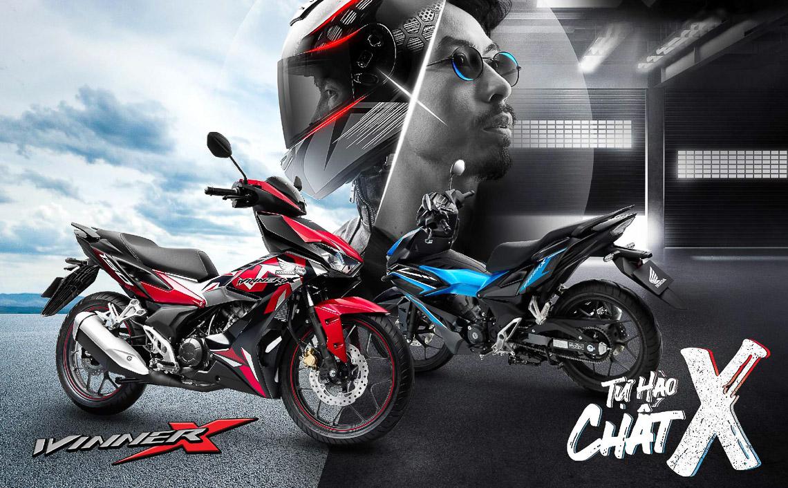 Honda Việt Nam ra mắt phiên bản Winner X mới, bổ sung tem màu mới đậm chất thể thao - 1