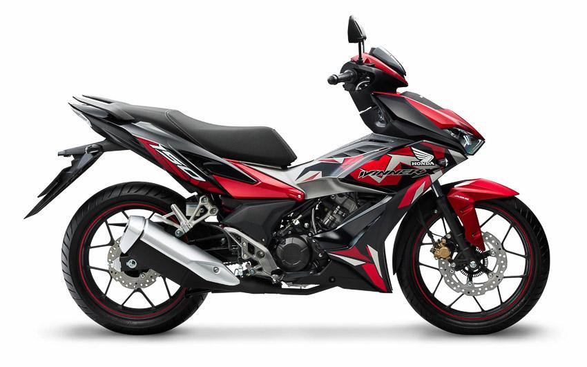 Honda Việt Nam ra mắt phiên bản Winner X mới, bổ sung tem màu mới đậm chất thể thao - 5