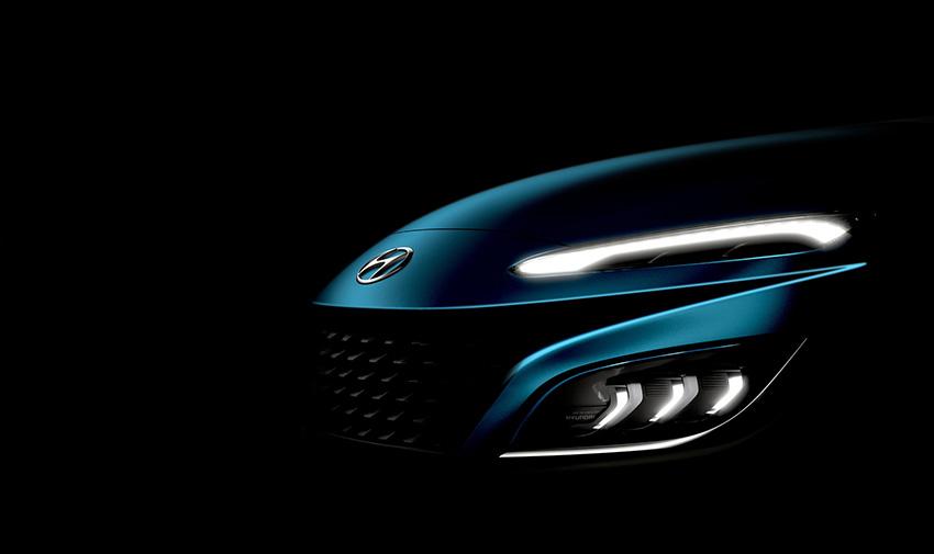 Hyundai Kona 2021 có thiết kế đèn LED ấn tượng