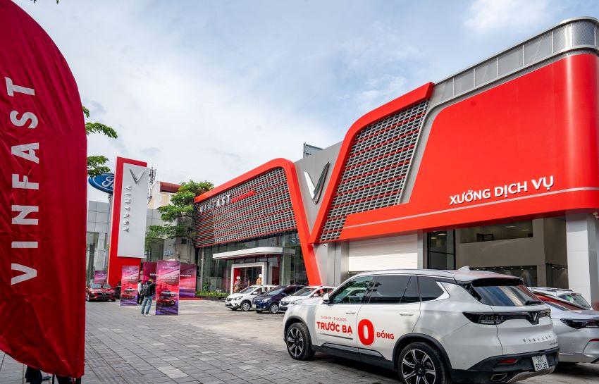 showroom VinFast Phạm Văn Đồng