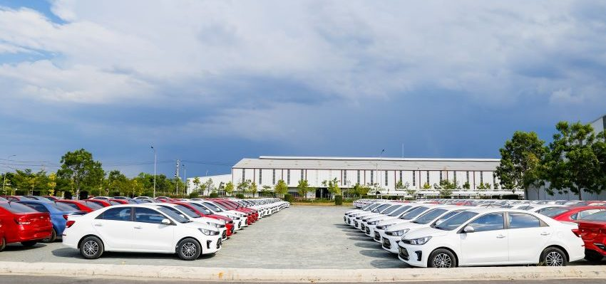 Thaco xuất khẩu Kia Soluto