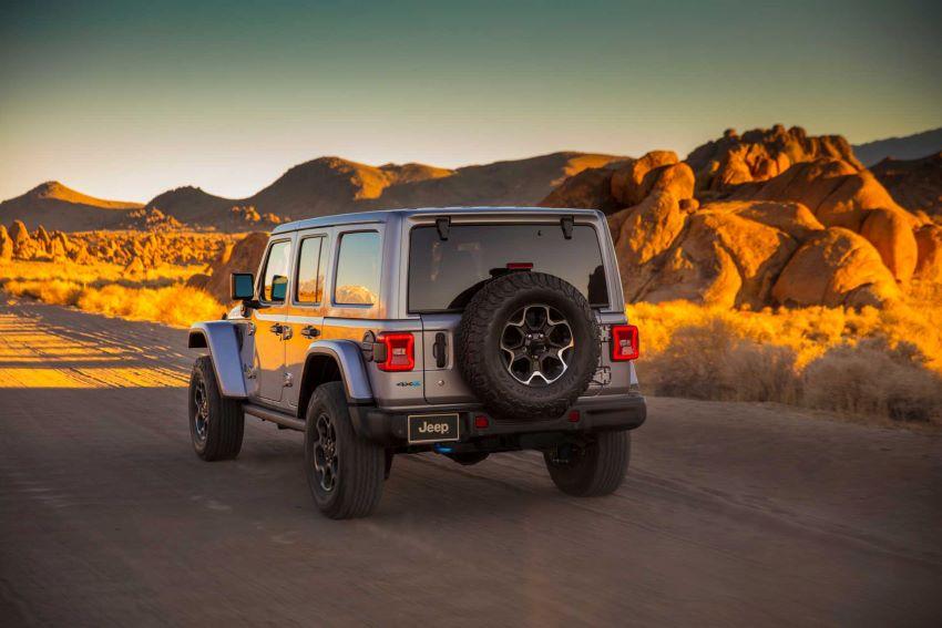xe Jeep Wrangler 2021 hybrid