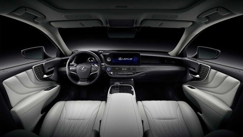 Xe Lexus LS 2021