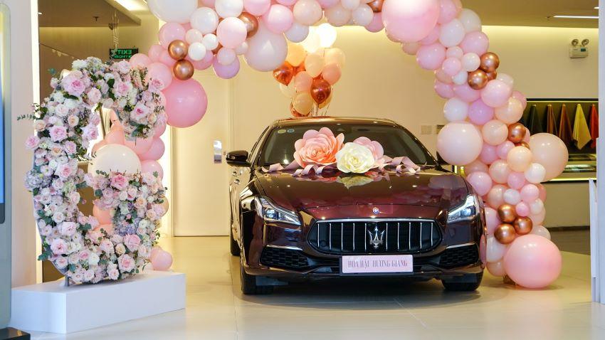 Hương Giang sở hữu Maserati