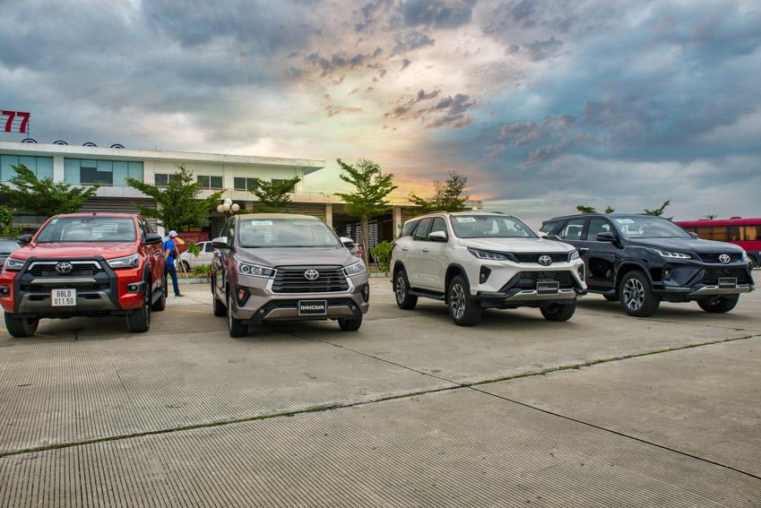 Hành trình trải nghiệm Toyota SUV 2020 - đầy đủ các dòng xe mới nhất của Toyota-21