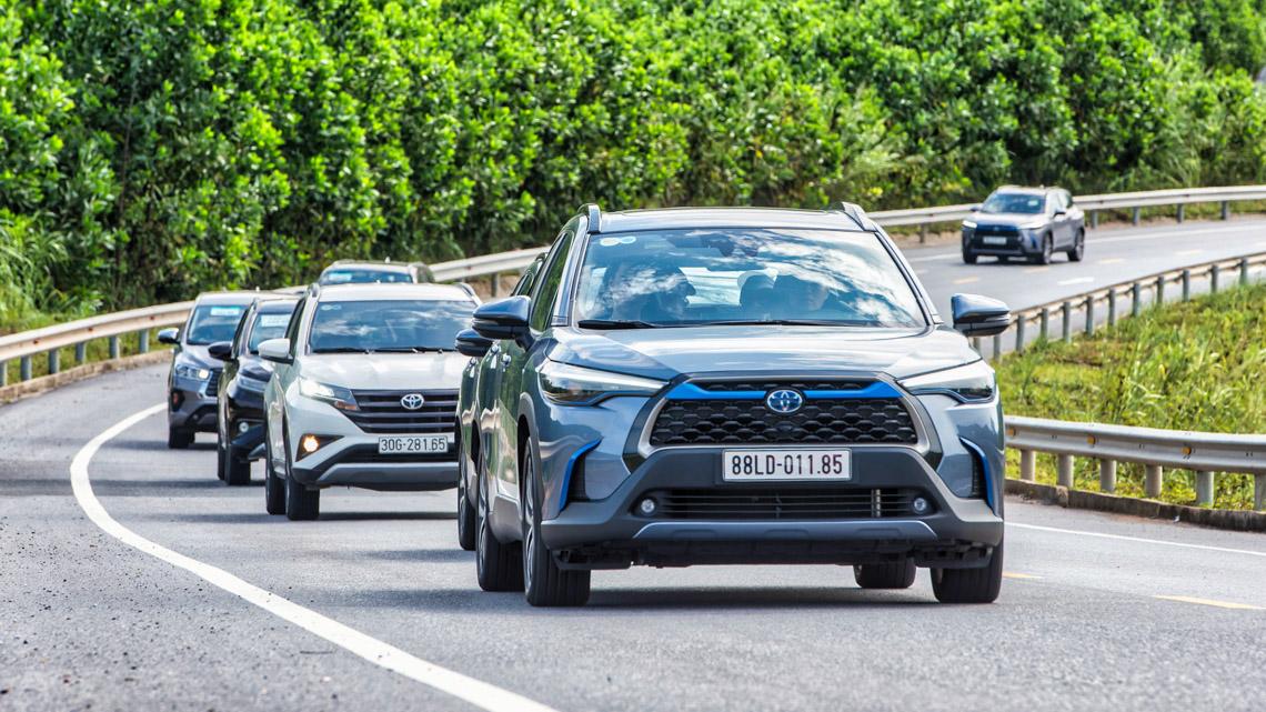 Hành trình trải nghiệm Toyota SUV 2020 - đầy đủ các dòng xe mới nhất của Toyota - 01