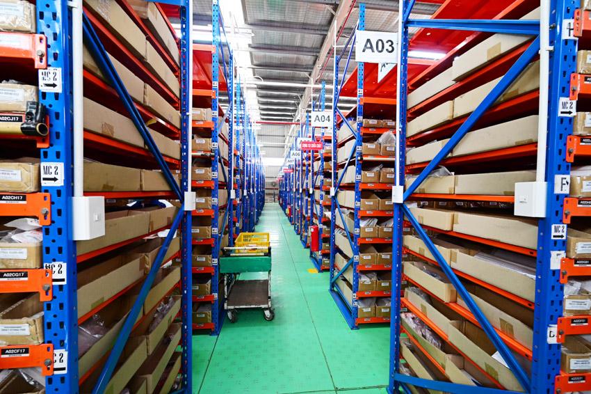 Với việc xây dựng kho phụ tùng mới, Suzuki cam kết có đủ phụ tùng cung cấp cho thị trường, với các yêu cầu phụ tùng từ Tp Hồ Chí Minh và Hà Nội, Suzuki cam kết sẽ cung cấp ngay trong ngày.