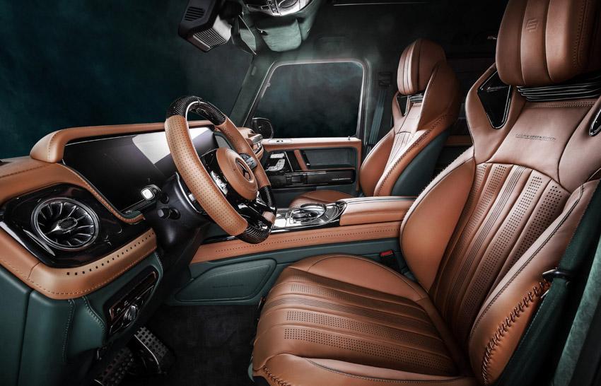 Vua địa hình Mercedes-Benz G-Class siêu cá tính với bản độ từ Carlex Design-13
