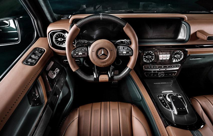 Vua địa hình Mercedes-Benz G-Class siêu cá tính với bản độ từ Carlex Design16