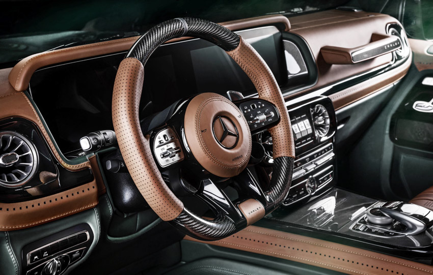 Vua địa hình Mercedes-Benz G-Class siêu cá tính với bản độ từ Carlex Design-17