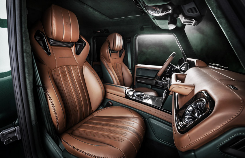 Vua địa hình Mercedes-Benz G-Class siêu cá tính với bản độ từ Carlex Design-18