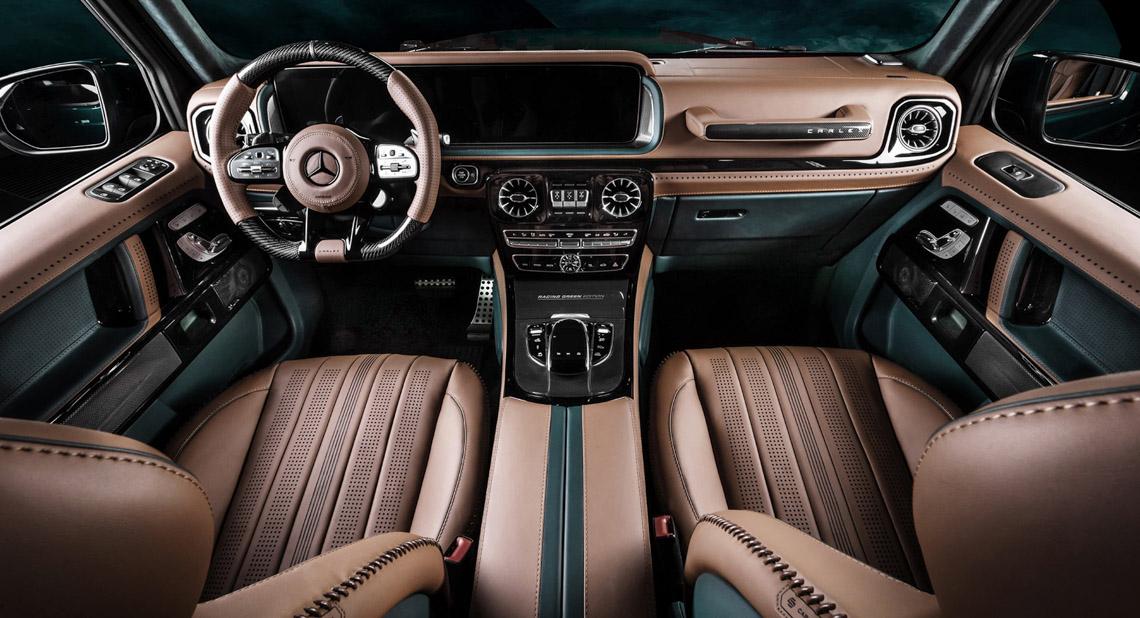 Vua địa hình Mercedes-Benz G-Class siêu cá tính với bản độ từ Carlex Design - 2