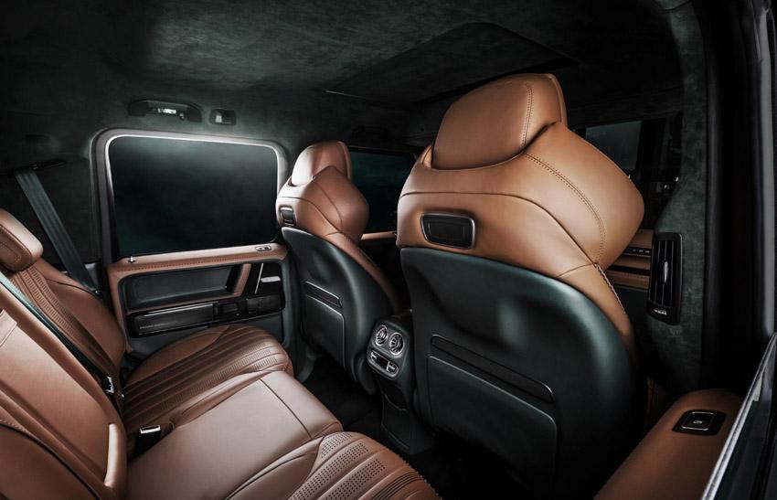 Vua địa hình Mercedes-Benz G-Class siêu cá tính với bản độ từ Carlex Design-21