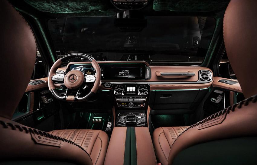 Vua địa hình Mercedes-Benz G-Class siêu cá tính với bản độ từ Carlex Design-23