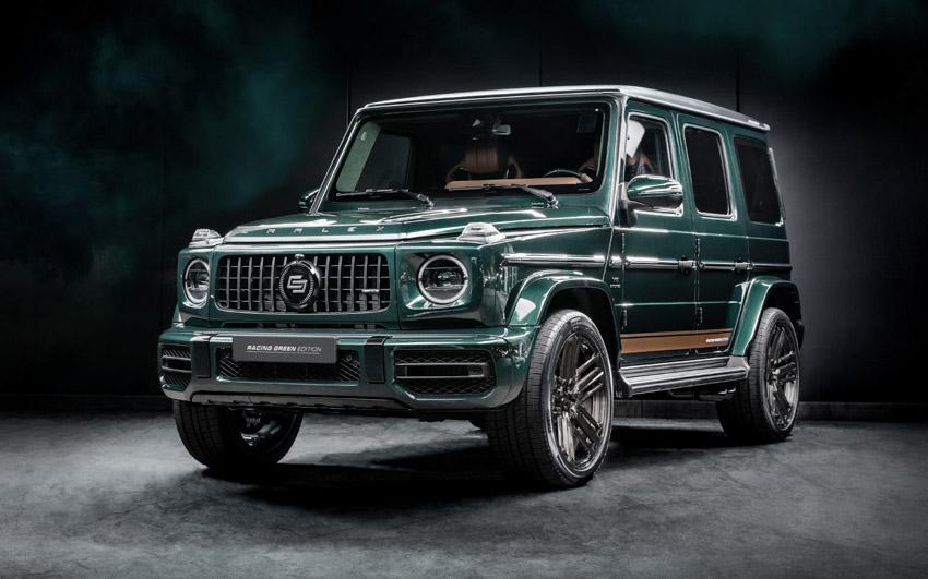 Vua địa hình Mercedes-Benz G-Class siêu cá tính với bản độ từ Carlex Design - 3