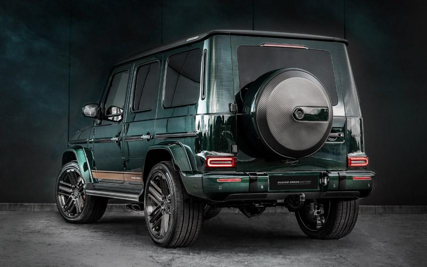 Vua địa hình Mercedes-Benz G-Class siêu cá tính với bản độ từ Carlex Design- 4