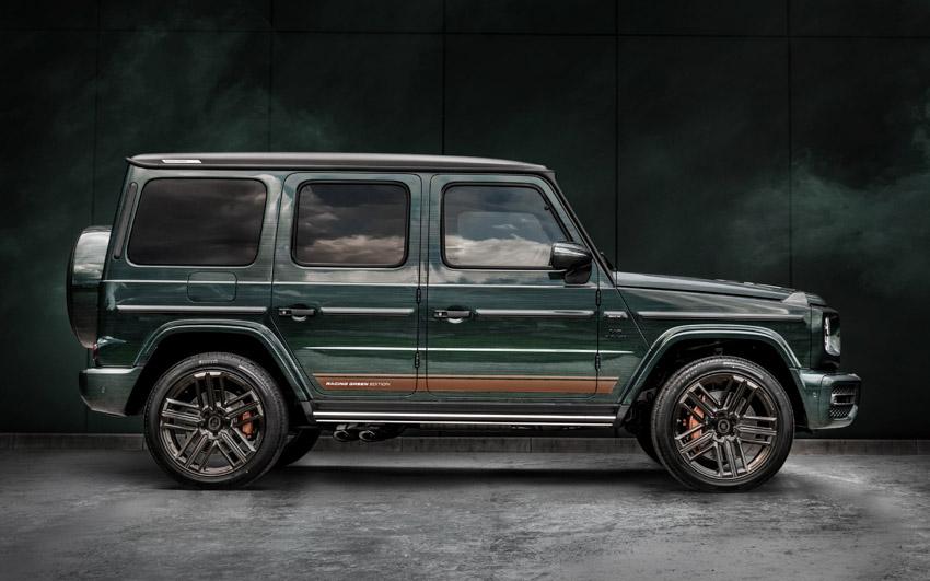 Vua địa hình Mercedes-Benz G-Class siêu cá tính với bản độ từ Carlex Design-5